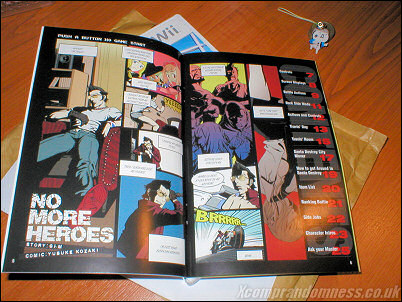 No More Heroes Comic Manual