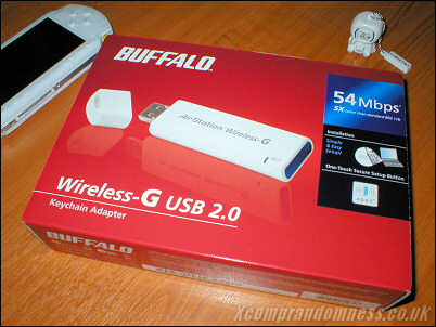 Buffalo WLI-U2-KG54L Wireless G Adapter