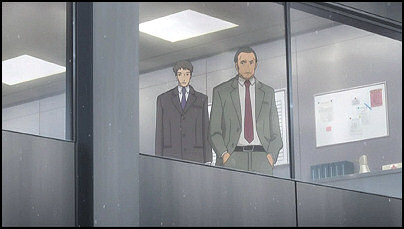 Kunio and Tomohiro continues to attempt to spy on Ryo.