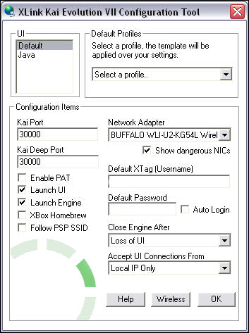 Xlink Kai Settings