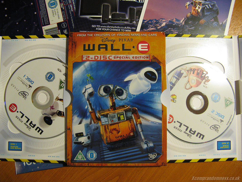 Wall E 2 Disc Special Edition Dvd With Art Cards Lh Yeung Net Blog Anigames