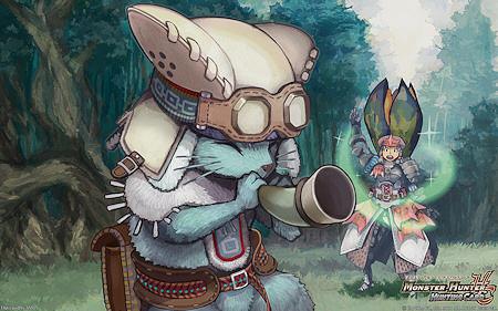 monster hunter anime game