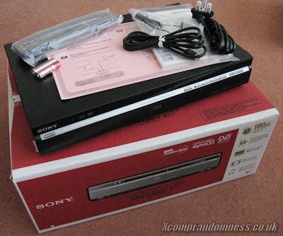 Sony RDR-HXD870 DVD Recorder