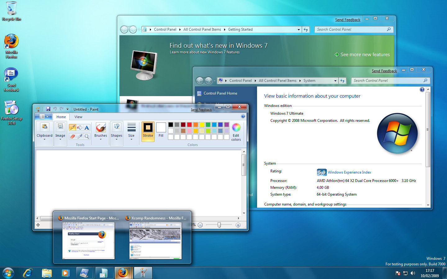 Windows 7 Starter Edition Limited To Three Applications