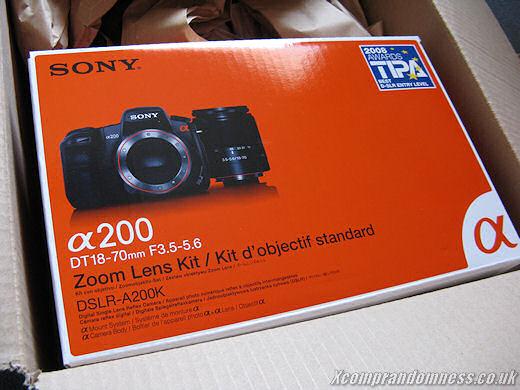 Sony DSLR-A200 Kit