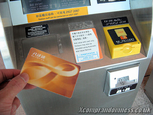 An Octopus Card