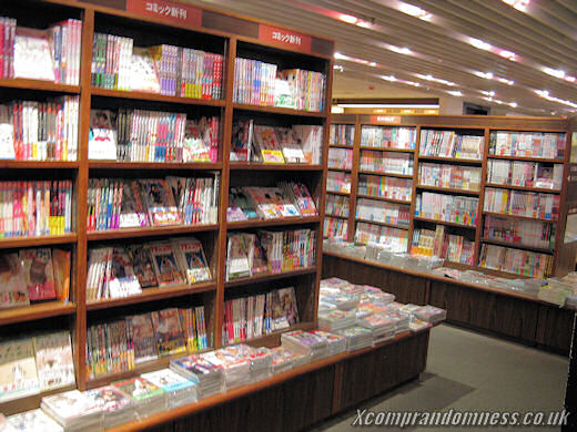 All sorts of books and magazines.