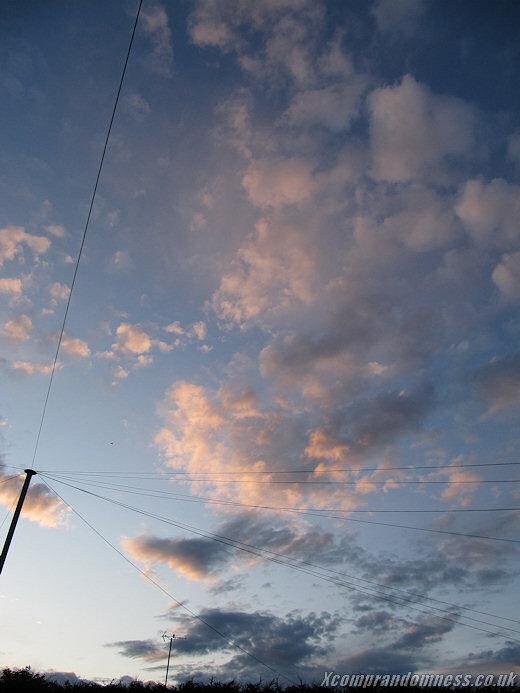 Evening Sky - June '09
