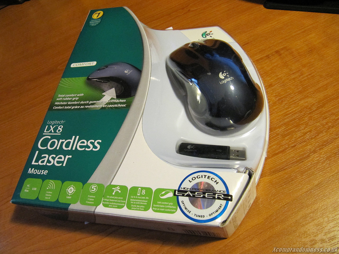 Logitech LX8 Cordless Laser Mouse Review | LH Yeung net Blog