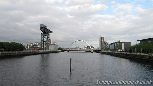At the River Clyde.