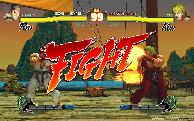 Street Fighter Spiel