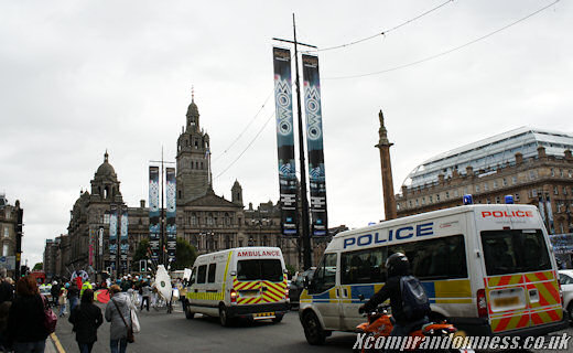 Just passing by George Square