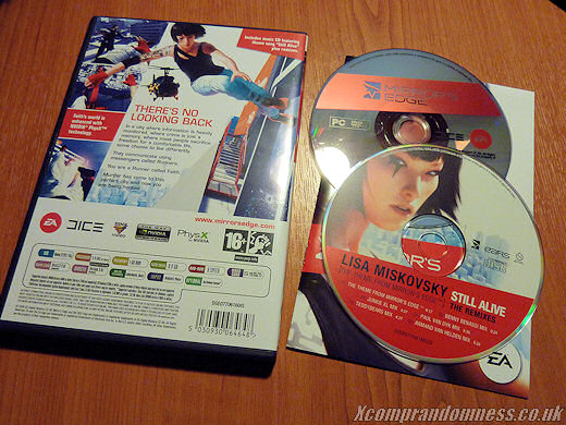 Mirror's Edge PC Comes with Theme Song CD