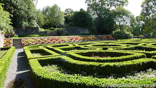 It's a maze.