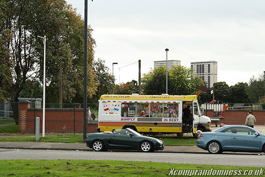 Ice-cream van!