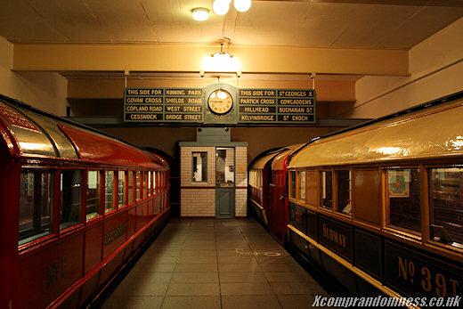 Old platform.