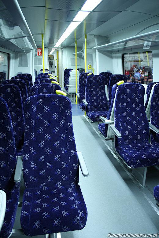 The modern train.