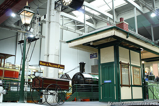 Old rail platform.