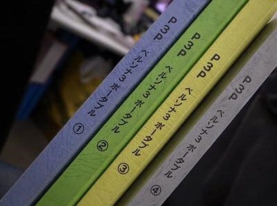 P3P Script Books