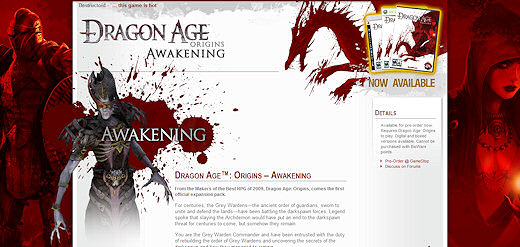 Dragon Age Origins - Awakening