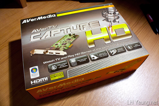 AverTV Capture HD H727 Review | LH Yeung net Blog - AniGames