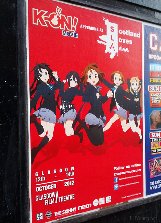 Scotland Loves Anime 2012 - K-ON! Movie