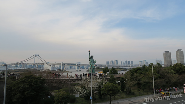 In Odaiba. Statue of liberty was a present apparently...?