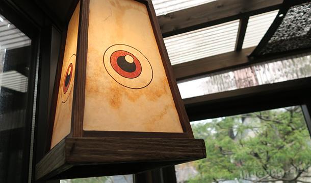 Medama Oyaji lanterns