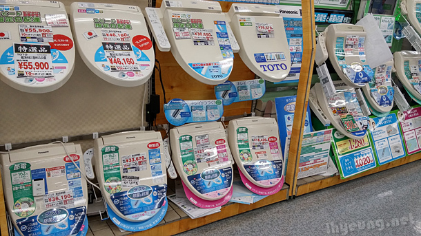 Turn your toilet into one of Japan's high tech toilets.