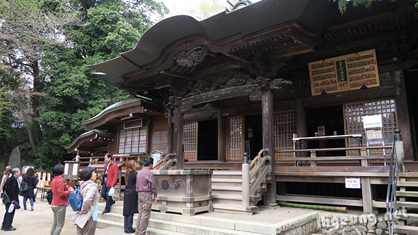 Main Jindai temple building