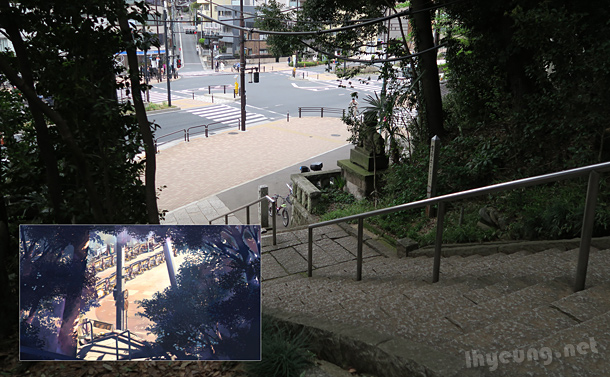 Entrance to Hachiman Temple