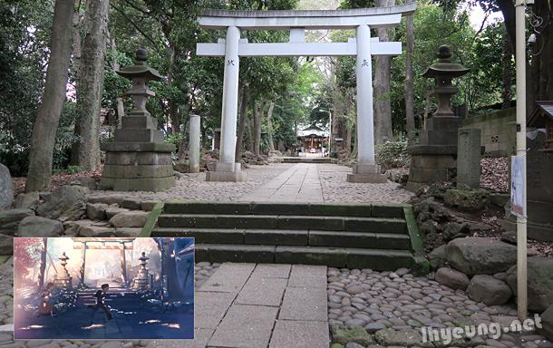 Hachiman gate