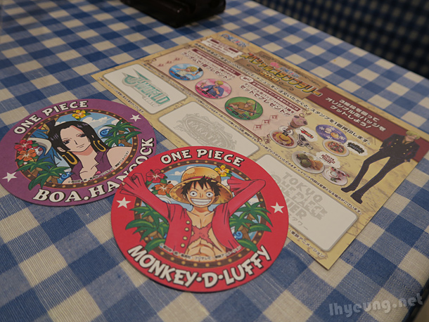 One Piece coasters