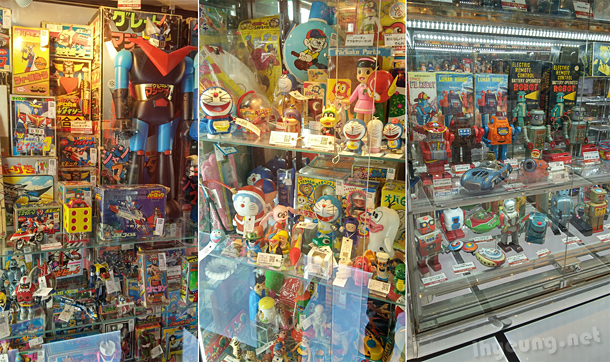 The Odd Shop Wasntpletely Odd Was Another Shop That Sold A Lot Of Old Toys Like Metal Robots And Merchandise From Way Back In The S