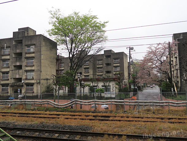Buildings looked quite run down at Nakano Station