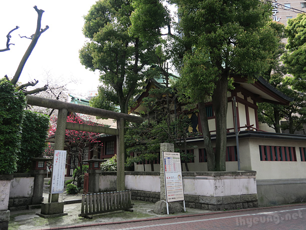 A shrine in Kamata