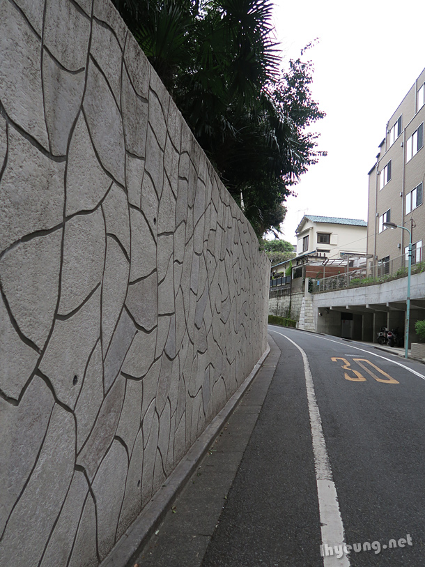 Walls with different patterns