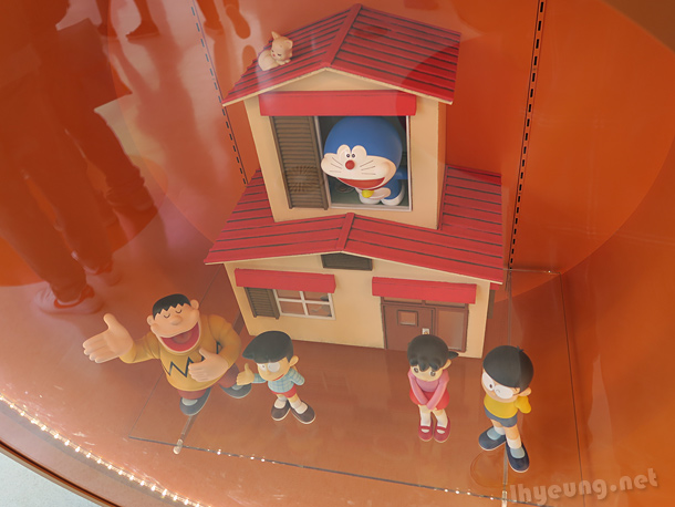 The main characters of Doraemon
