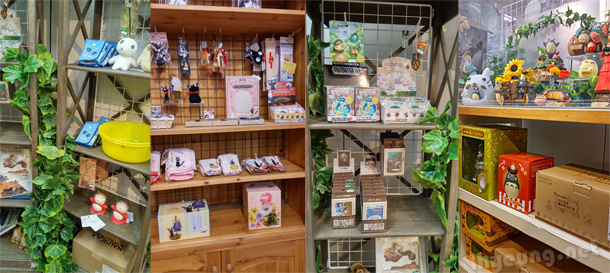 Ghibli goods in Akiba.