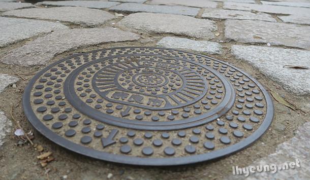 Nara manholes.