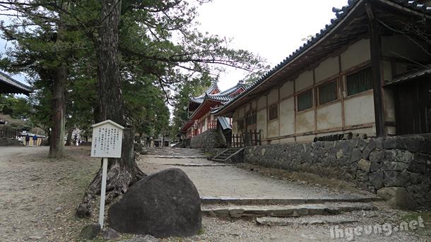 Smaller shrines.