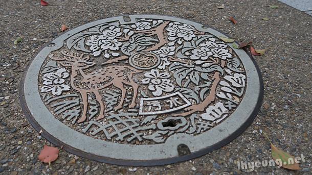 Manholes of Nara