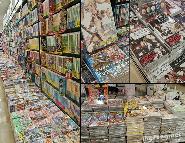 Manga everywhere