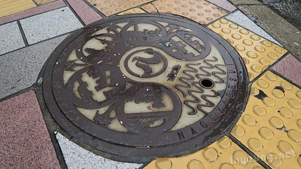Manholes.