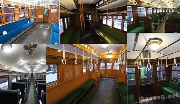 Older, more nostalgic carriages.