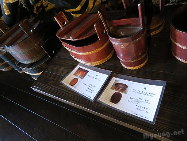 Old rice buckets?