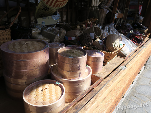 Steaming baskets