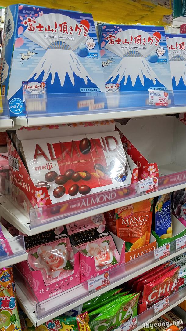 Mount Fuji candy.