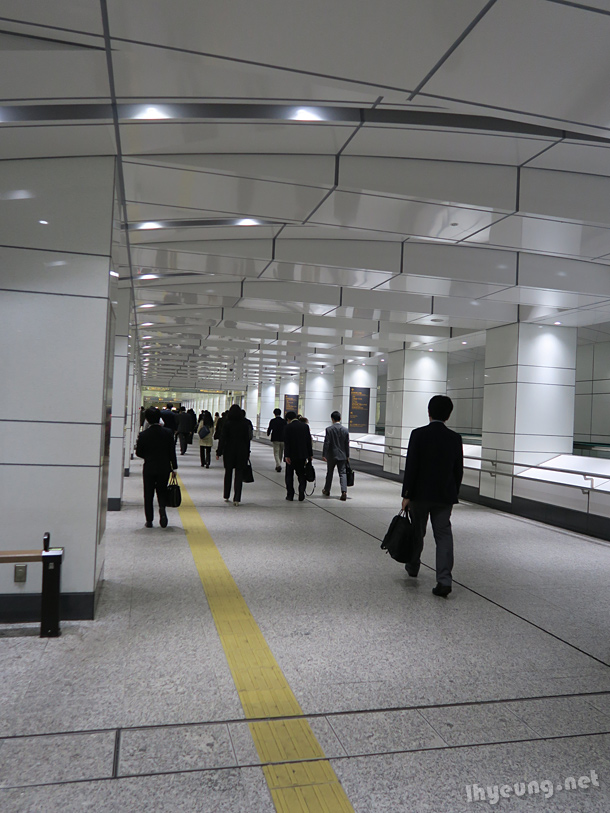 Pristine subway