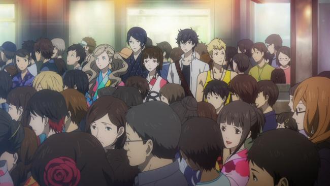 Production I.G. Anime cutscenes.